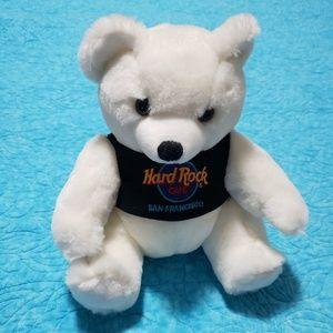 Hard Rock Cafe San Francisco Teddy Bear